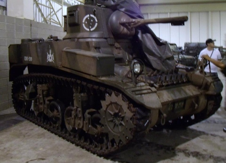 Stuart tank, used at Italy, 1944 by BRAZILIAN ARMY