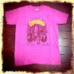 """本さんのジェイソンT。珍しくピンクを買ってしまった【Spring Tour 2009 """"JASON 本秀康デザイン ジェイソンTシャツ(2009年)】"""