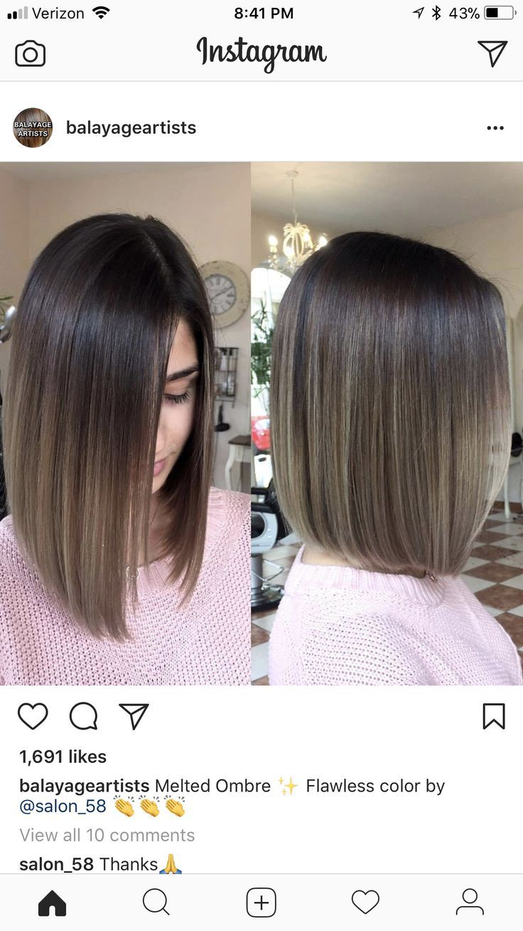 Very Straight Blunt Bob Straight Hairstyles Hair Styles Bob Hairstyles
