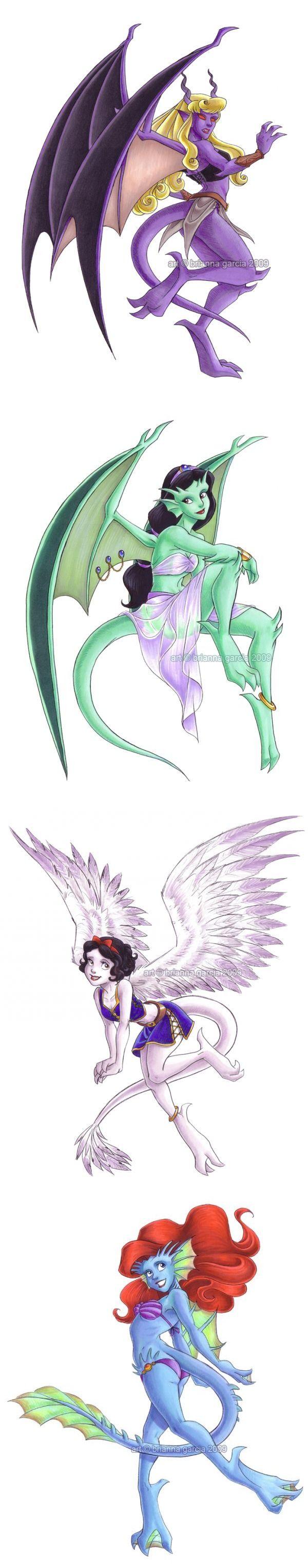 Disney Princess Gargoyles