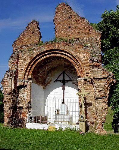 Medieval Arpadian age church ruins - Cikó, Hungary