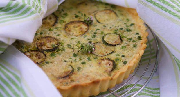 Tarte petits pois courgettesVoir la recette >>