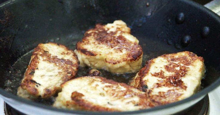 Marie Mandelmanns variant av den omtyckta osten halloumi. Fantastiskt god och väl värd väntan! Tips! Servera stekt fjälloumi med en sallad på ruccola, lindblad och stekt sparris.