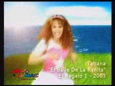 """Video musical de la canción """" El Baile de la Ranita """", de su disco """"El Regalo Vol. 1"""" del año 2003."""