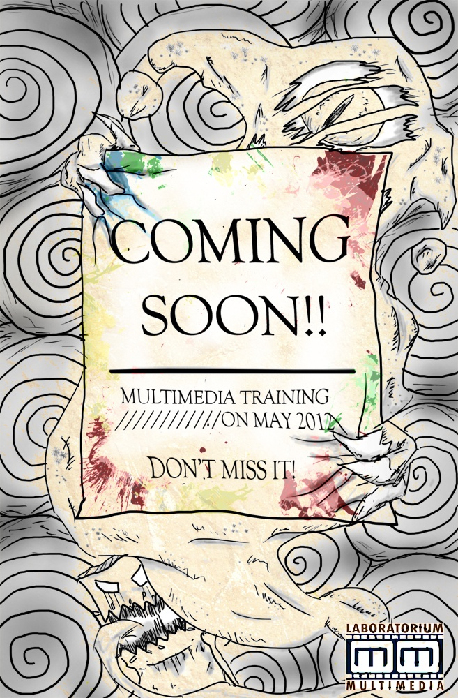 Multimedia Training by Mutimedia Laboratory Coming Soon Poster
