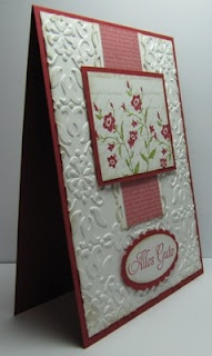 +Embossing Cards, Cards Ideas, Scrapir 237, Flower Layered, Floral Piece, Personalized Notecards, Pretty Cards, Bricks Embossing, Flower Paper