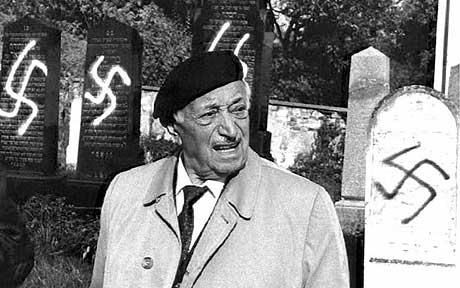 Simon Wiesenthal, Nazi Hunter and Founder of the Simon Wiesenthal Center in Los Angeles CA