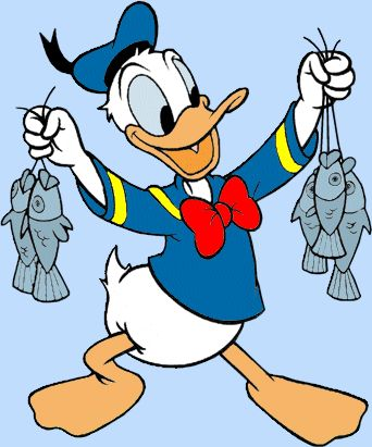 Donald Duck Cartoon Disney