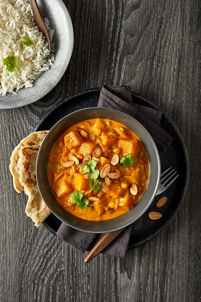 Pumpkin & Chick Pea Curry