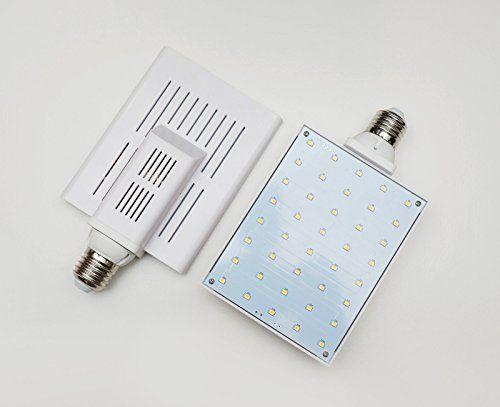 PowerStation24 High Efficiency Green Energy Full Spectrum SMD LED Plant Grow Light Bulb - Standard E26/E27 base-  *** For more information, visit now : Gardening Supplies