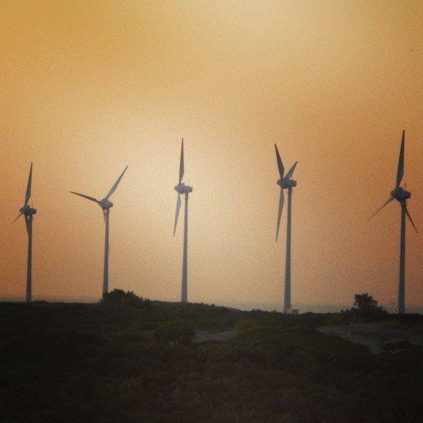 Windmills in Bozcaada