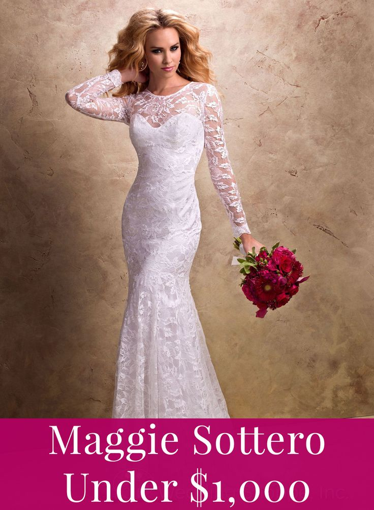 Maggie Sottero for under $1,000!