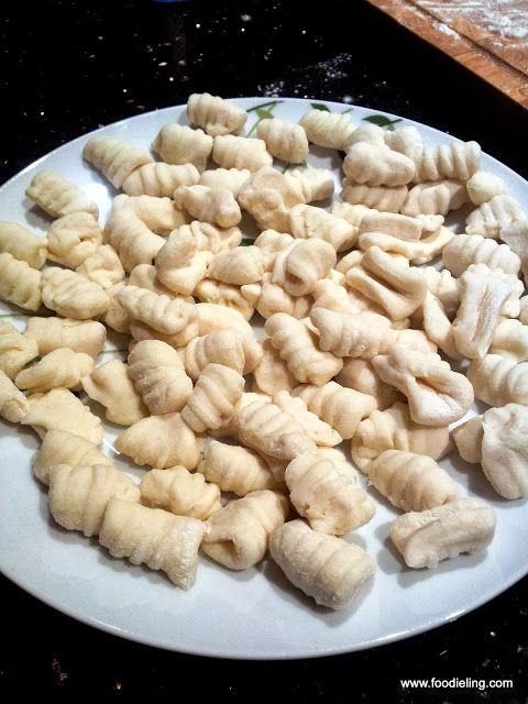 Hand made gnocchi