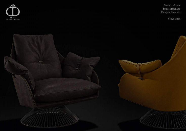 Poltrone divani Italy Dream Design novità 2016