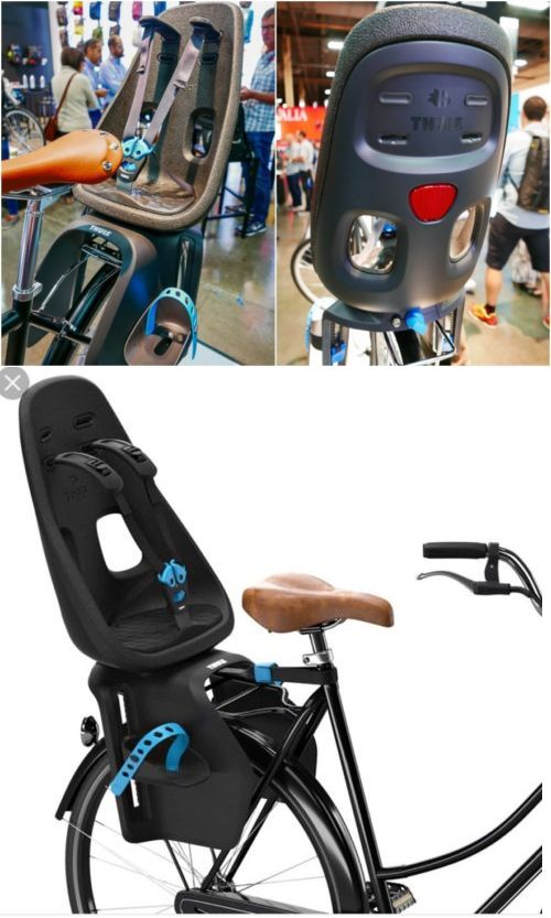 e271736cafa Child Seats 56808  Thule Yepp Nexxt Maxi Bicycle Child Baby Toddler Seat  Black Obsidian Rear Rack -  BUY IT NOW ONLY   174.99 on eBay!