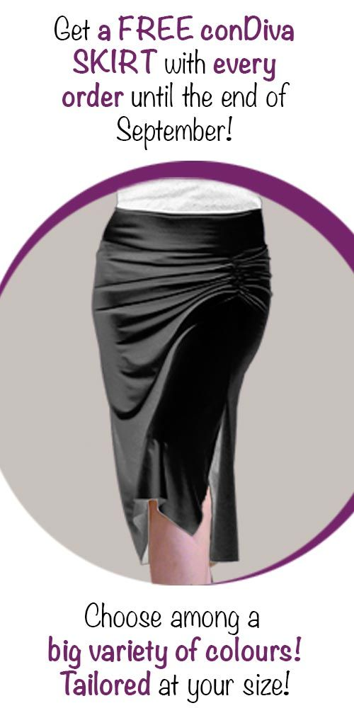 Special Offer for the New Tango Season!  Get for free a conDiva skirt with every order! Shop now at www.conDiva.com