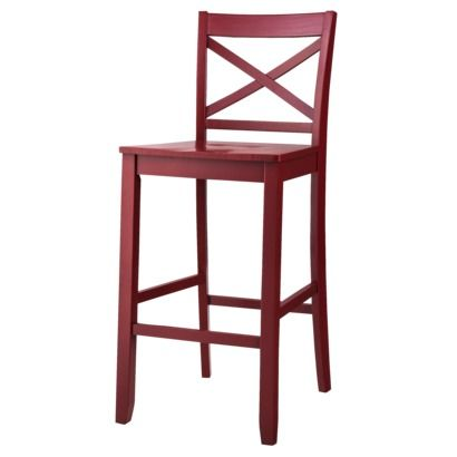 Target $69.99 Threshold Carey Bar Stool - Red But Comes in White & Black Too