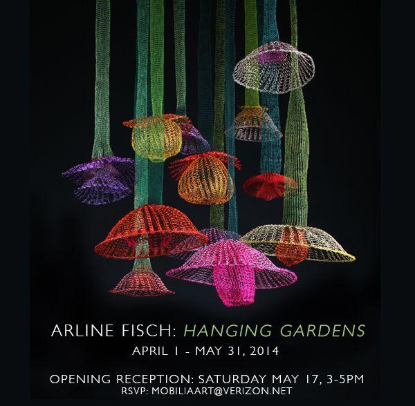 25 best fiber art knitting crochet images on pinterest for Mobilia gallery cambridge ma