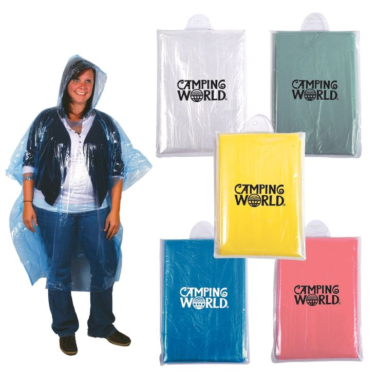 Promotional Compact Disposable Rain Poncho | Customized Compact Disposable Rain Poncho | Promotional Ponchos