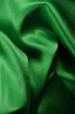 GREEN Silk Charmeuse