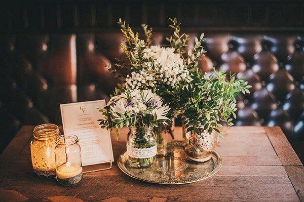 A Romantic Family Pub Wedding | Whimsical Wonderland Weddings                                                                                                                                                                                 More