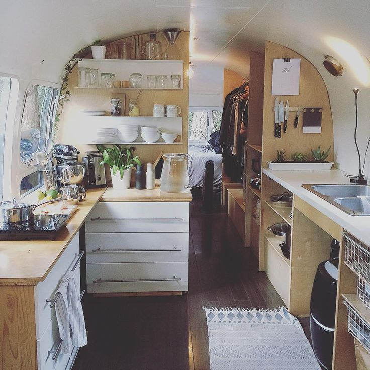 """""""Airstream life // I'm incredibly grateful for my tiny home. #tinyhouse #tinyhome #airstreamlife"""""""