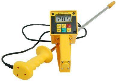 Hay Moisture Meter yang satu ini merupakan Alat ukur kadar air genggam yang memiliki nilai yang sangat penting dalam memperkirakan tingkat k...