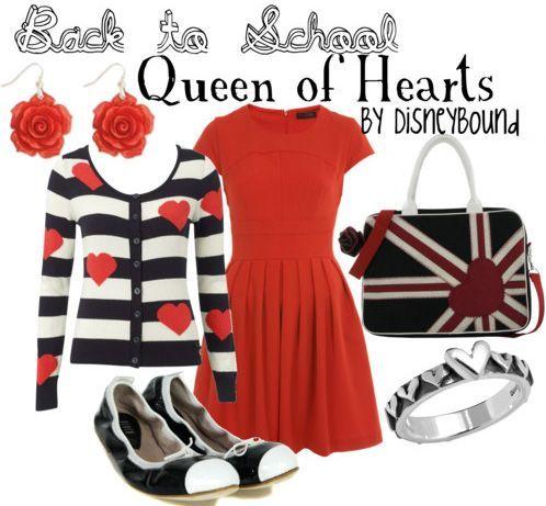 Disney Bound Queen of Hearts Stuff I like PinterestQueen Of Hearts Disneybound