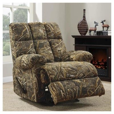 Realtree Rocker Recliner - Camouflage - Dorel Living, Brown