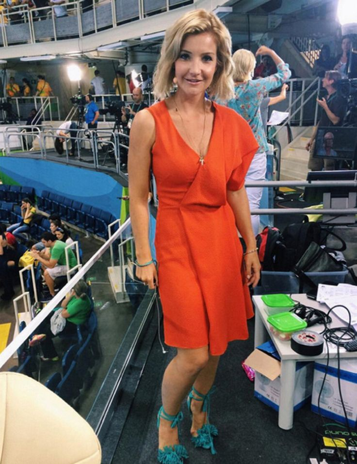 A red dress on tonight olympic schedule