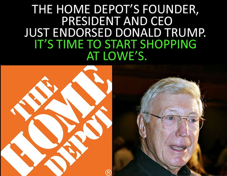 Will do! Lowes is just a couple of blocks away. I hate dumb companies that mix business with politics! I'm still boycotting businesses from the last election.
