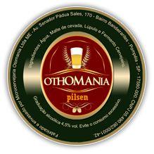 Cerveja Othomania Pilsen, estilo German Pilsner, produzida por Cervejaria Othomania, Brasil. 4.5% ABV de álcool.