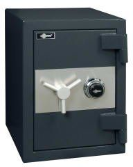 """Amsec CSC1913 Commercial Security Composite Safes by Amsec. $714.11. 4 Bolts and 2 shelves. Cubic In. Capacity 2898. Inside Dimension 19""""H x 12.5""""W x 12.2""""D. Weight 318. Outside Dimension 23.8""""H x 18""""W x 19.9""""D. Door: -Overall thickness of 4-5/8"""" and is constructed with a 2"""" defense barrier of outer and inner steel plates creating a burglary resistant structure enclosing a unique proprietary, fire resistant material.    Body: -Total protective thickness of 2-7/8"""" encl..."""