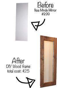 25 best ideas about ikea mirror hack on pinterest ikea for Ikea minde mirror