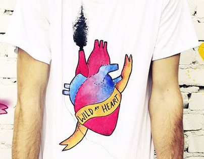 """Check out new work on my @Behance portfolio: """"Wild at Heart"""" http://on.be.net/1IUpkuG"""