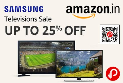 Amazon #LightningDeal brings Samsung LED Television Sale is offering Upto 25% off on LED Televisions.  http://www.paisebachaoindia.com/samsung-led-television-sale-upto-25-off-amazon/