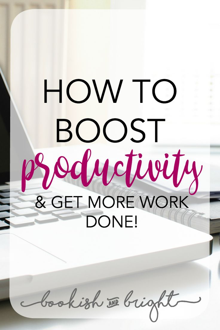 It's hard to be constantly productive. When you're on a time crunch and need some help, follow these tips!