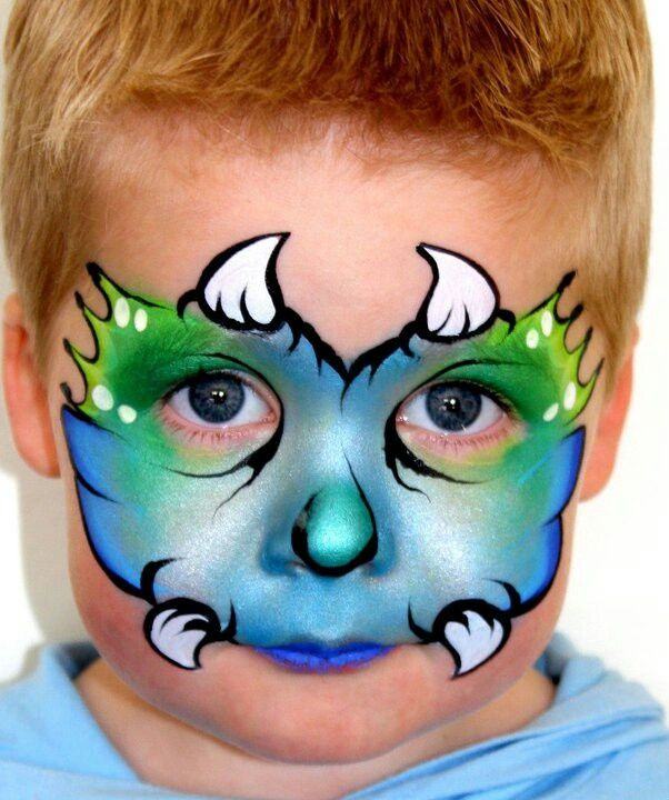 Image result for christmas tree face painting