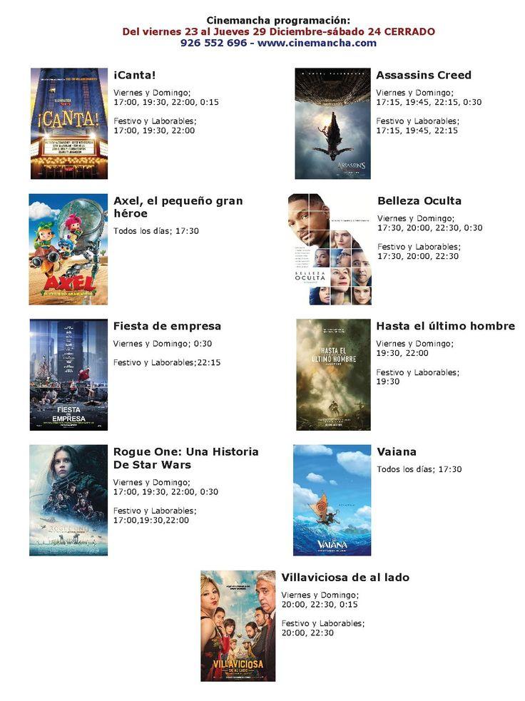 Cartelera Cinemancha del 23 al 29 de diciembre - https://herencia.net/2016-12-23-cartelera-cinemancha-del-23-al-29-diciembre/?utm_source=PN&utm_medium=herencianet+pinterest&utm_campaign=SNAP%2BCartelera+Cinemancha+del+23+al+29+de+diciembre