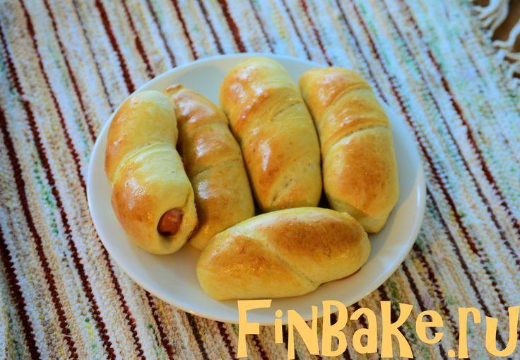 Сосиски в тесте, мини-пиццы и рецепт дрожжевого теста - FinBake