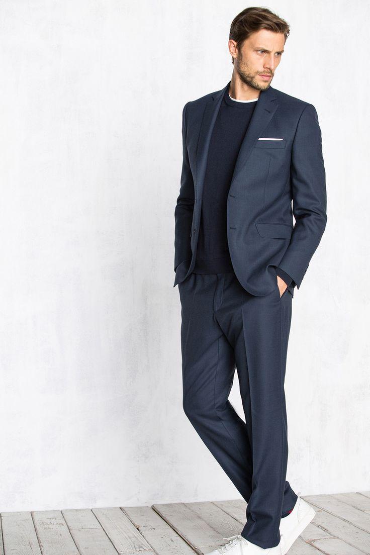 Cortefiel. The Tailored Fit TRAJE TAILORED DE OJO DE PERDIZ