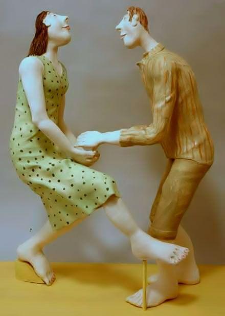 Lidija Tkalcevic: Sculpture, Ceramics Pottery Clay, Pottery Art, Clay Human, Ceramic Women, Folk Artists, Ceramic Figures, Human Figures