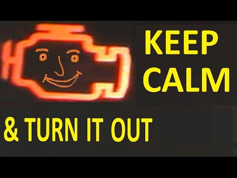 The Great Engine Management Light Rip Off - YouTube