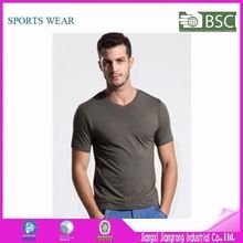 High Quality Mens Bamboo V-Neck T-Shirts Plain Blank  best seller follow this link http://shopingayo.space
