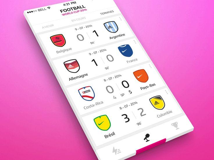 Football app iOS