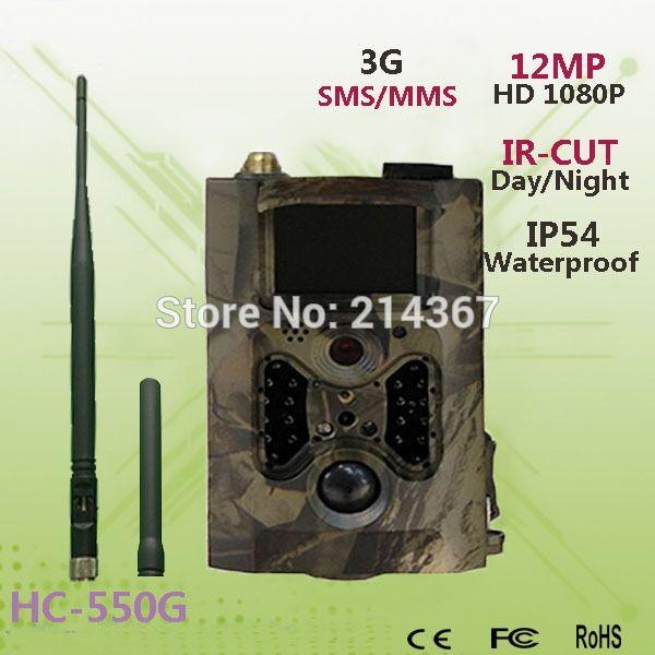 112.90$  Buy here - http://alijnl.worldwells.pw/go.php?t=32579266157 - 75 feet Infrared Range HD Covert 3G Wildlife Surveillance 3G GPRS Game Cameras Jakt Kamera HC550G