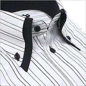 【特価につきお一人1点まで】ボタンダウン 長袖ワイシャツ ビジネス フォーマル カジュアルに最適! メンズ 長袖 ワイシャツ Yシャツ [形状安定][形態安定][形状記憶][ワイドカラー][ボタンダウン][クレリック][ドレスシャツ] 多数取り扱い! カラーシャツ 白シャツ【RCP】【楽天市場】