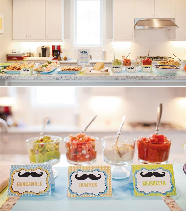 79 Best Images About Moustache Baby Shower Theme On