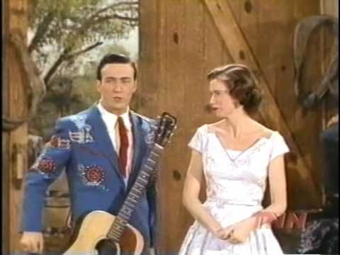 Faron Young & June Carter at Grand Ole Opry
