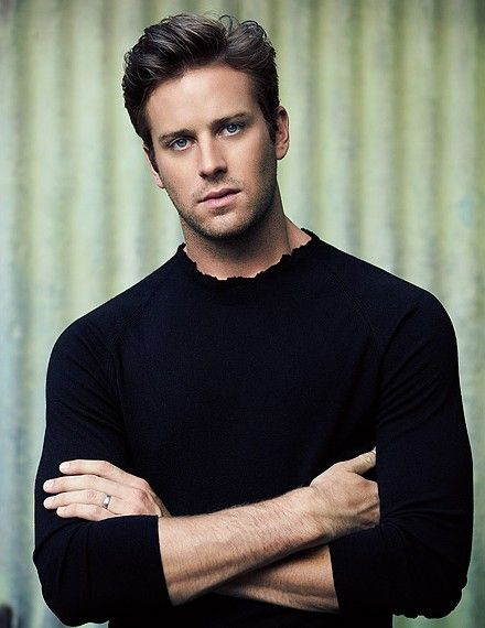Armie Hammer IS Christian Grey.    SEE!!!  I'm not the only one who thinks he should play Christian Grey.